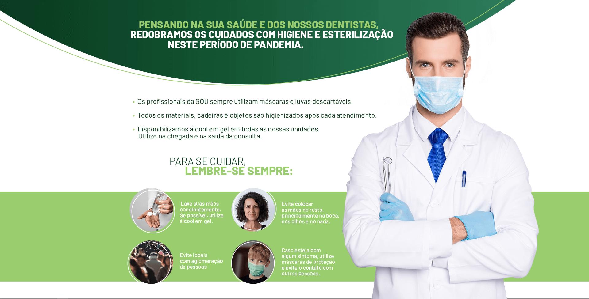 Aviso e cuidados Coronavírus